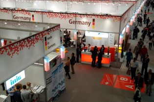 Chinaplas: visita al padiglione tedesco