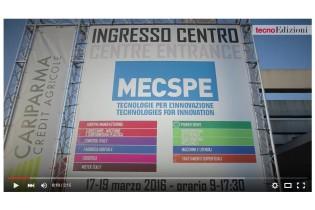 Report MECSPE 2016: guarda il video