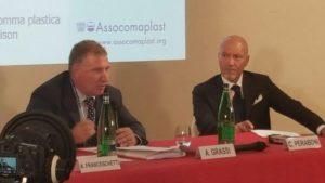 A. Grassi Presidente Assocomaplast e C. Peraboni AD Fiera Milano