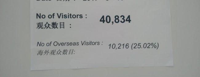 40.834 visitatori per il primo giorno di Chinaplas 2017