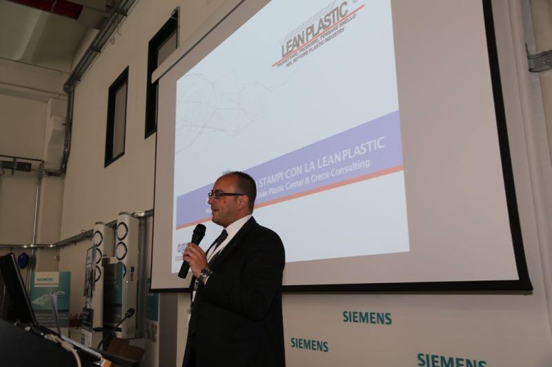 Lean Plastic convegno Siemens