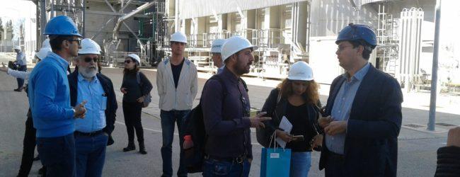 Con Siemens e Sorgenia, visita alla centrale elettrica di Termoli