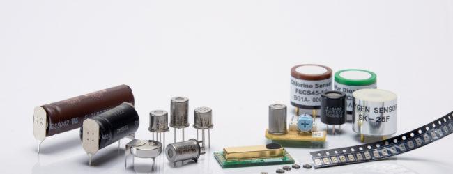 'Più' sensori compatti Figaro per il rilevamento di gas distribuiti da RS Components