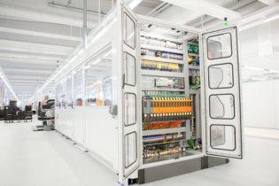 I quadri elettrici che misurano temperatura e umidità