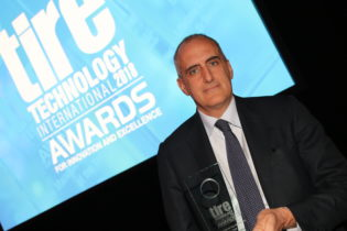 """Versalis vince il """"Tire Manufacturing Innovation of the Year 2018"""""""