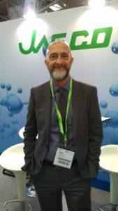 Massimo Cazzaniga di Jasco Analytica2018 Tecnolab
