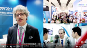 Marco Mastrosanti di Tecnoedizioni Group testimonial di Chinaplas 2018
