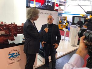 Fakuma2018 A video-interview with Christopher Wapf by ZAMBELLO RIDUTTORI S.R.L. about the new gear box for injection moulding machines