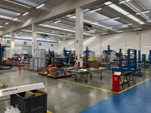 Tecnoplast a Campetella Robotics center 2018