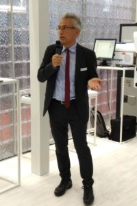 'We want to challenge the most important markets with our products' Mr Erico SPINI RadiciGroup press conference @fakuma 2018