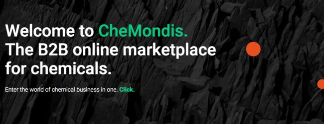 CheMondis, il marketplace online per i prodotti chimici