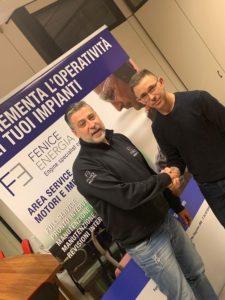 Emilio Varotto e Giorgio Cavagnera