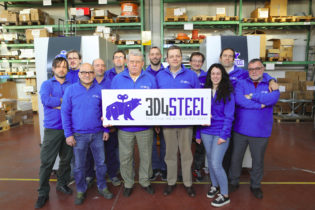 3D4STEEL, il sistema industriale di stampa 3D per metalli tutto italiano