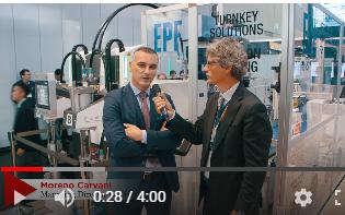 EPF Plastic a K 2019, intervista a Moreno Carvani
