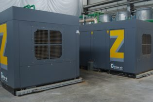 Michelin verso la sostenibilità ambientale con un impianto di aria compressa