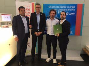 2G partnership con E.ON