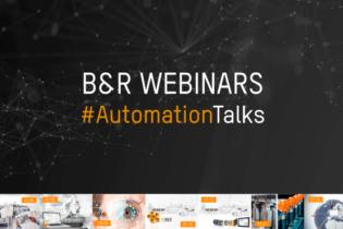 L'automazione B&R in 7 webinar globali