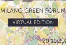 Torna il Milano Green Forum: la seconda edizione in digitale sarà live il prossimo 20 novembre