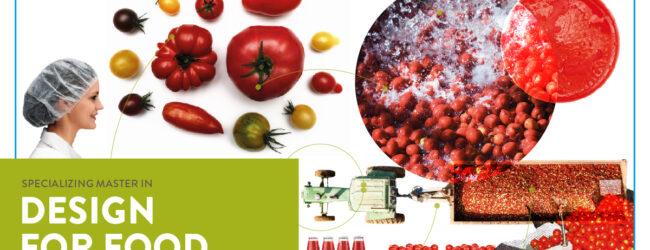 Design for food, il master