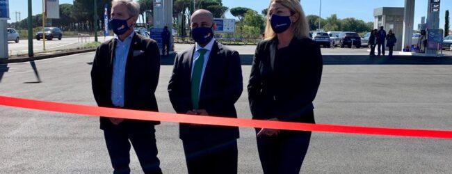 A Roma la prima stazione di servizio al mondo con asfalto al grafene