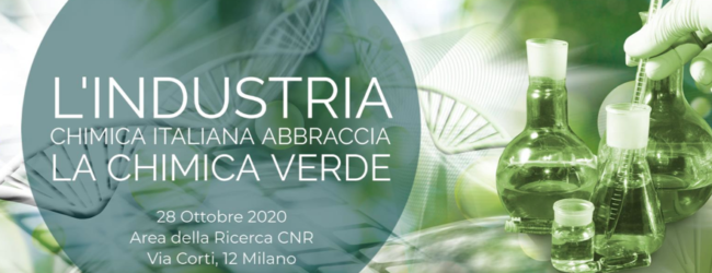 L'industria chimica italiana abbraccia la chimica verde