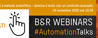 """Webinar 19 novembre: """"Azionamenti smart e metodo scientifico"""""""