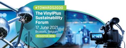 Sono aperte le registrazioni al VinylPlus Sustainability Forum 2021