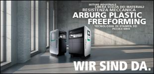 Webinar Arburg Plastic freeforming, 6 maggio 2021