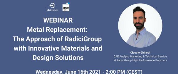 RadiciGroup e i prodotti per il Metal Replacement