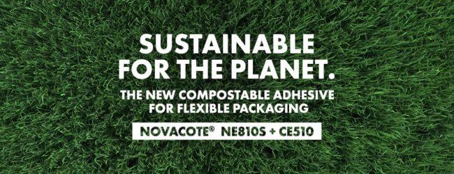 COIM presenta un nuovo adesivo compostabile per il food packaging